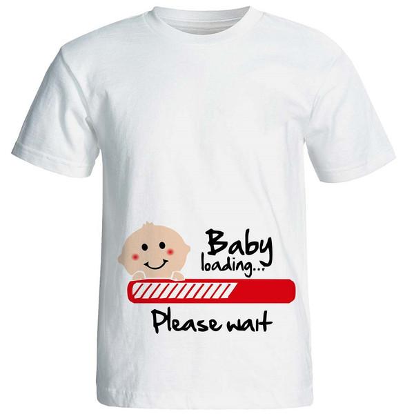 تیشرت بارداری نوین نقش طرحp534
