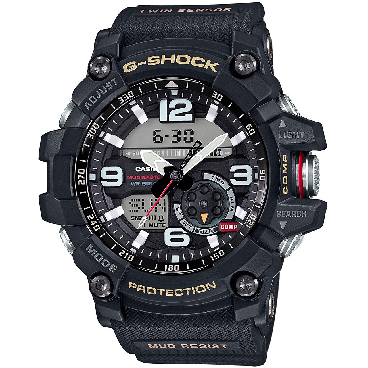 ساعت مچی عقربه ای مردانه کاسیو جی شاک مدل GG-1000-1ADR