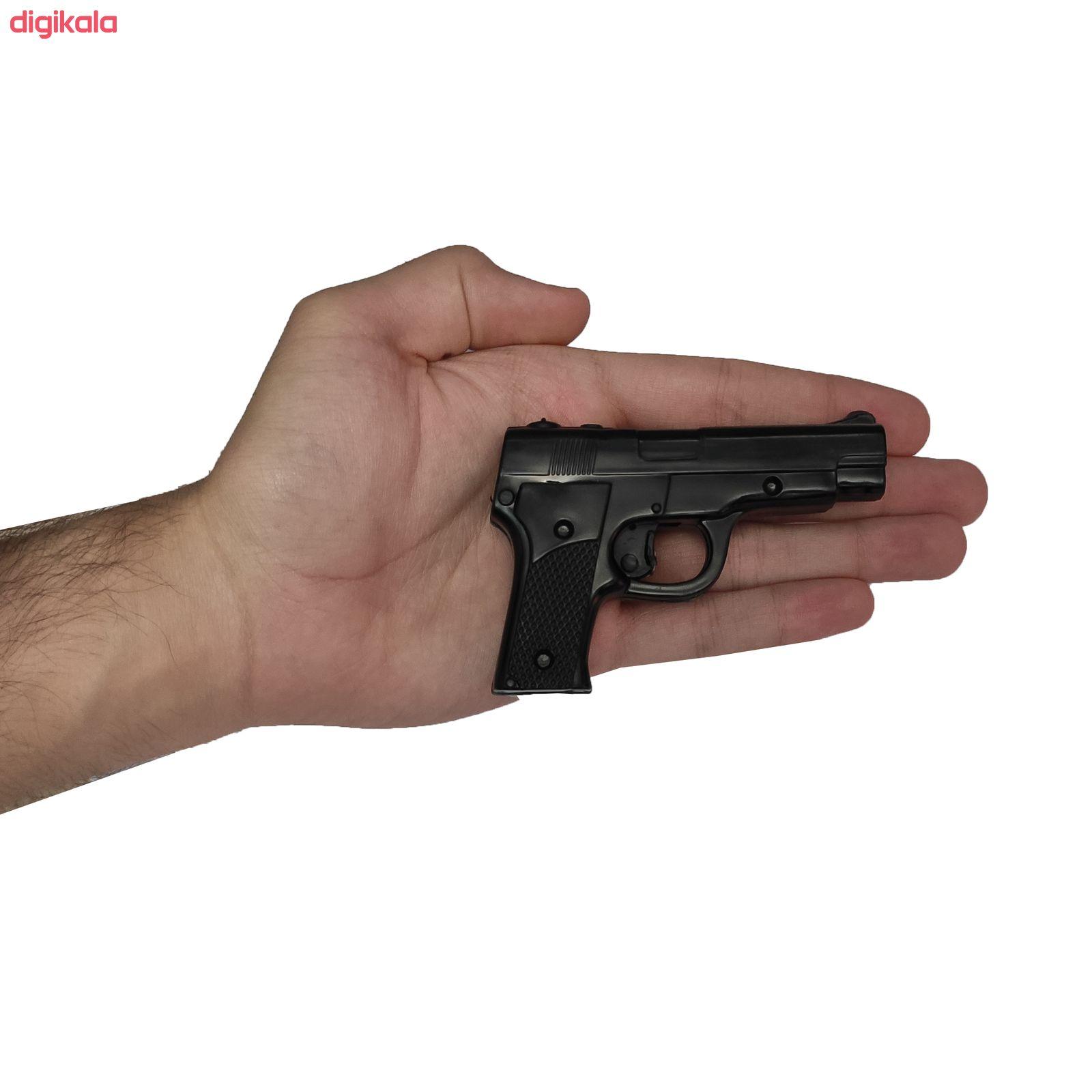 تفنگ بازی مدل پلیس کد p1 مجموعه 11 عددی main 1 8