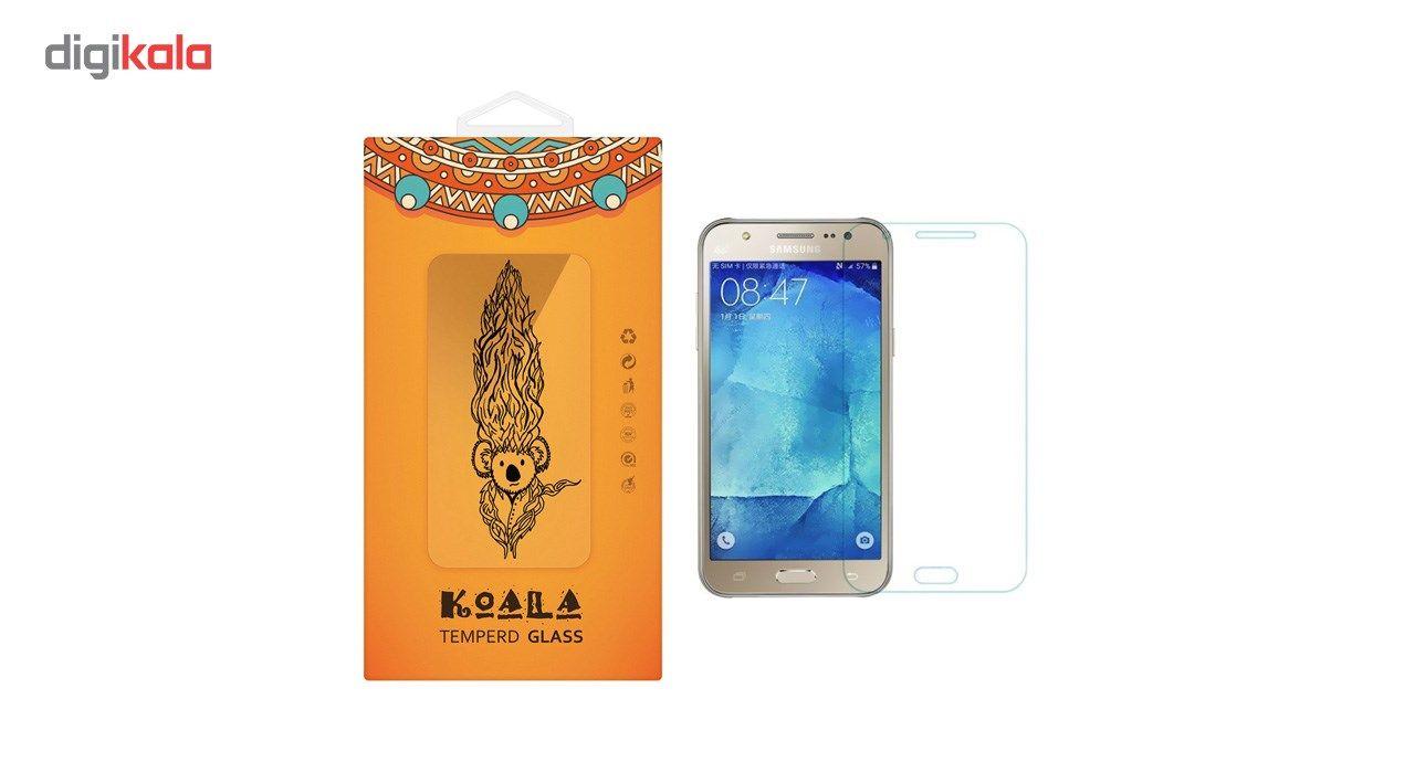محافظ صفحه نمایش شیشه ای کوالا مدل Tempered مناسب برای گوشی موبایل سامسونگ Galaxy J5 2015 main 1 1