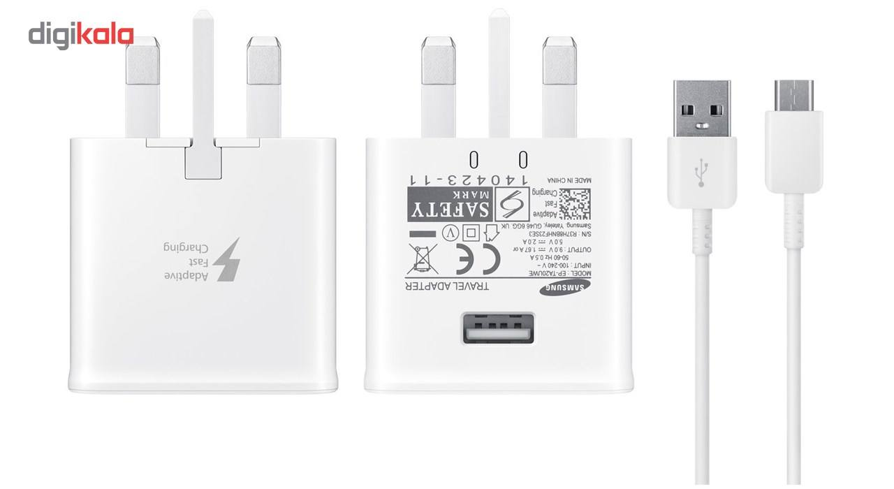 شارژر دیواری 15W مدل EP-TA20UWE همراه با کابل USB Type-C main 1 2