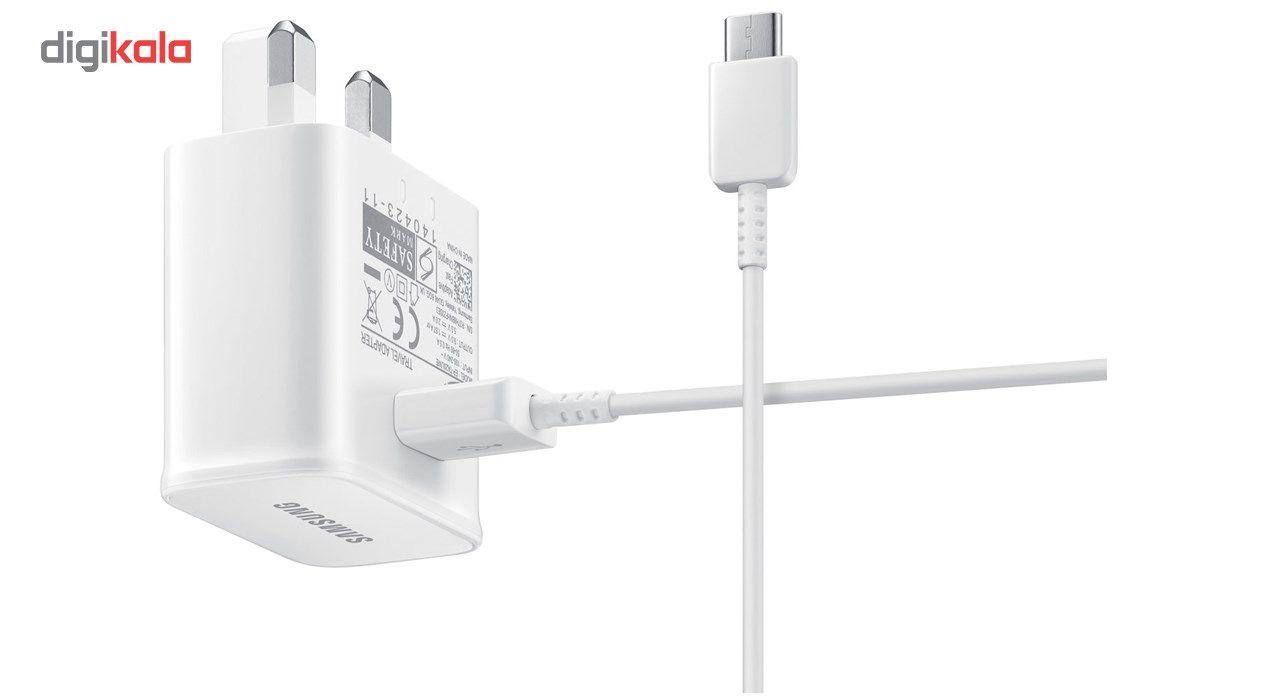 شارژر دیواری 15W مدل EP-TA20UWE همراه با کابل USB Type-C main 1 3