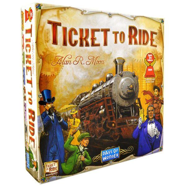 بازی رومیزی دیز آف واندرز مدل Ticket To Ride