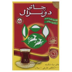 چای دو غزال مدل Pure Ceylon بسته 500 گرمی
