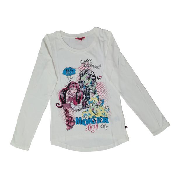 تی شرت آستین بلند دخترانه مانستر های مدل 11-14-21