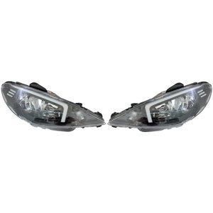 چراغ جلو اسپرت نگین مدل 01-206 مناسب برای پژو 206 بسته 2 عددی