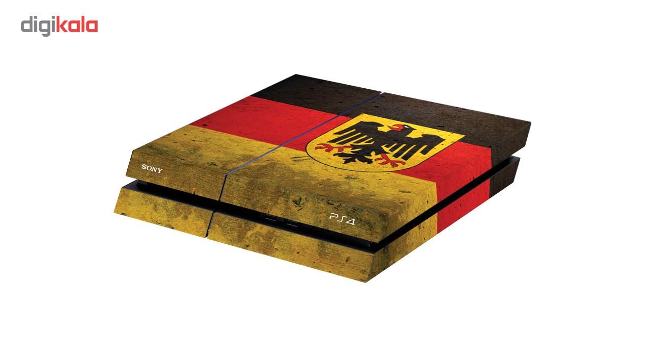 برچسب افقی پلی استیشن  4 گراسیپا طرح Germany