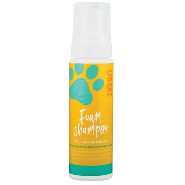 شامپو یو اس پت فوم مخصوص سگ و گربه 220 گرمی