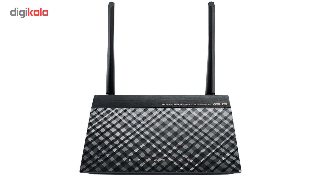 مودم روتر بی سیم VDSL/ADSL ایسوس مدل DSL-N16 main 1 1