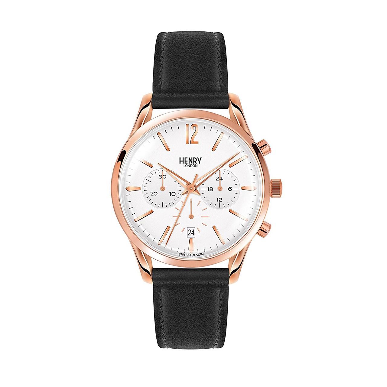 ساعت مچی عقربه ای  هنری لندن مدل Hl39-cs-0036