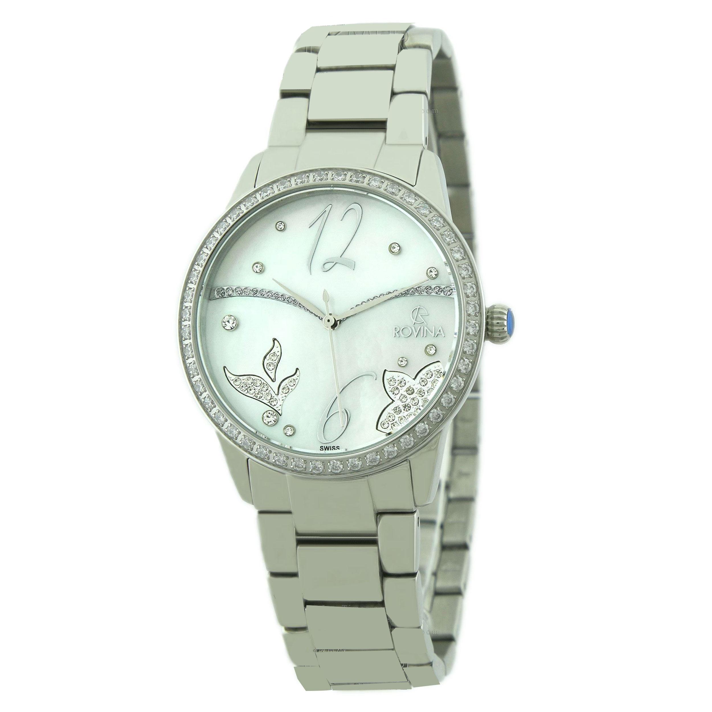 خرید و قیمت                      ساعت مچی  زنانه روینا مدل 22148-L1BW