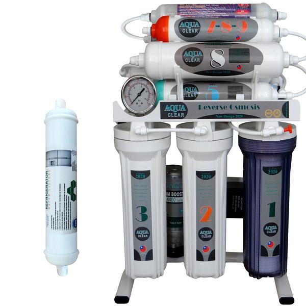 دستگاه تصفیه کننده آب آکوآ کلیر مدل NEWDESIGN 2020 - AFQ10 به همراه فیلتر یخچال ساید بای ساید