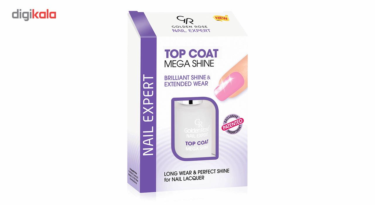 تاپ کت گلدن رز مدل Mega Shine