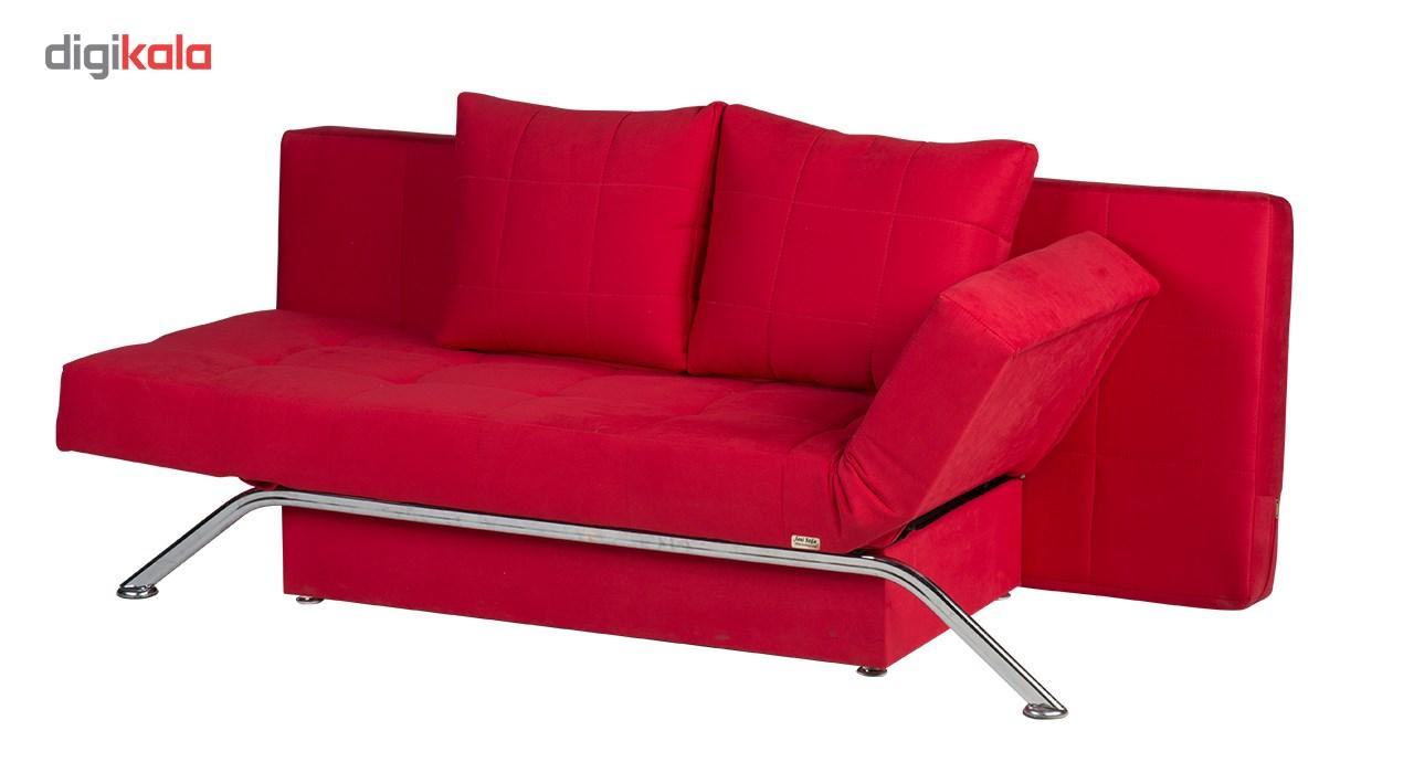 کاناپه مبل تختخواب شو ( تختخوابشو ) دو نفره آرا سوفا مدل D22