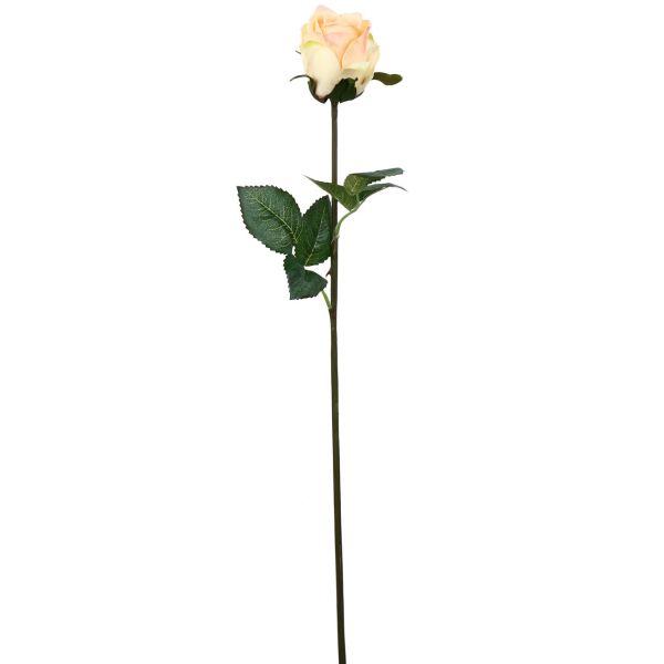 گل مصنوعی هومز طرح رز غنچه نیمه باز  مدل43052 مجموعه 4 عددی