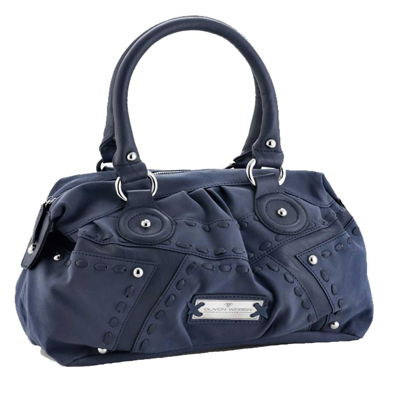 کیف دستی چرم الیوروبر مدل پرایم blu 71030