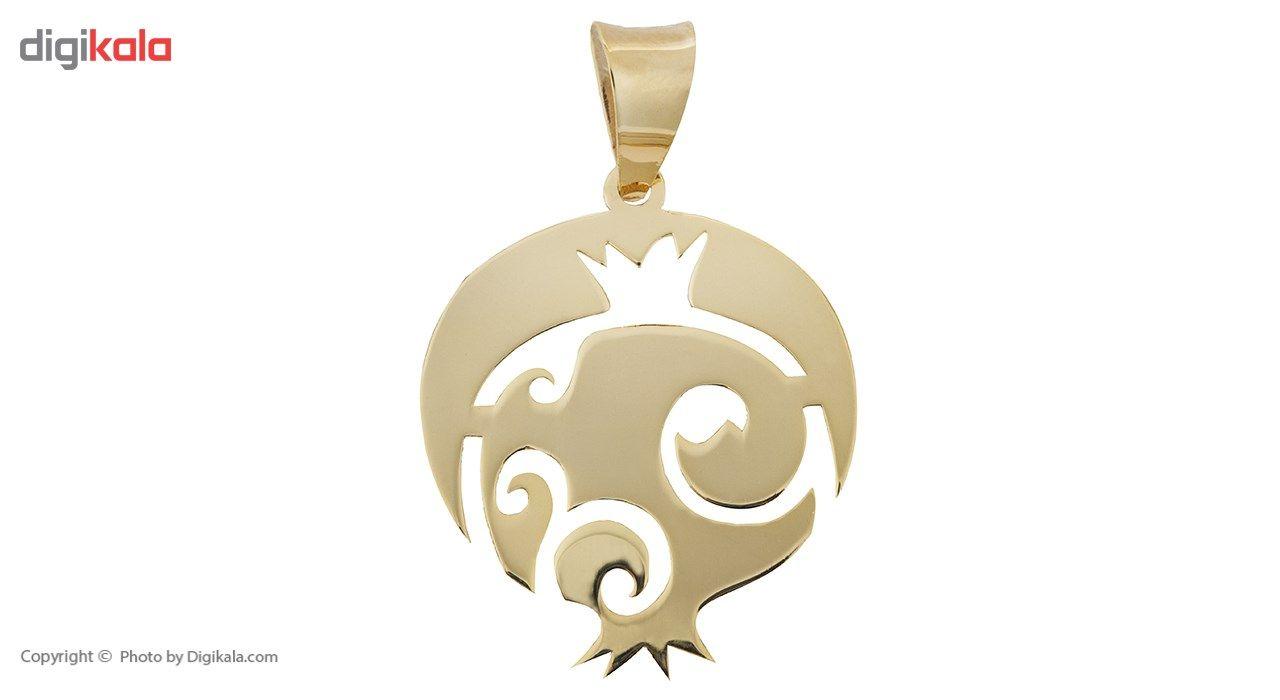 آویز گردنبند طلا 18 عیار ماهک مدل MM0596 - مایا ماهک -  - 2
