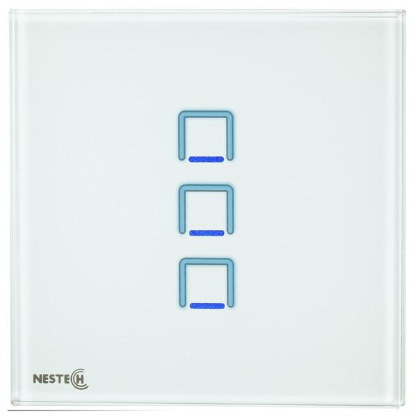 کلید لمسی هوشمند نستک مدل NE4-LS01W-G3