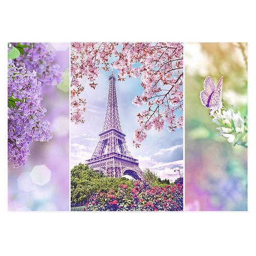پازل 1000 تکه تریفل طرح رومانتیک بهار در پاریس