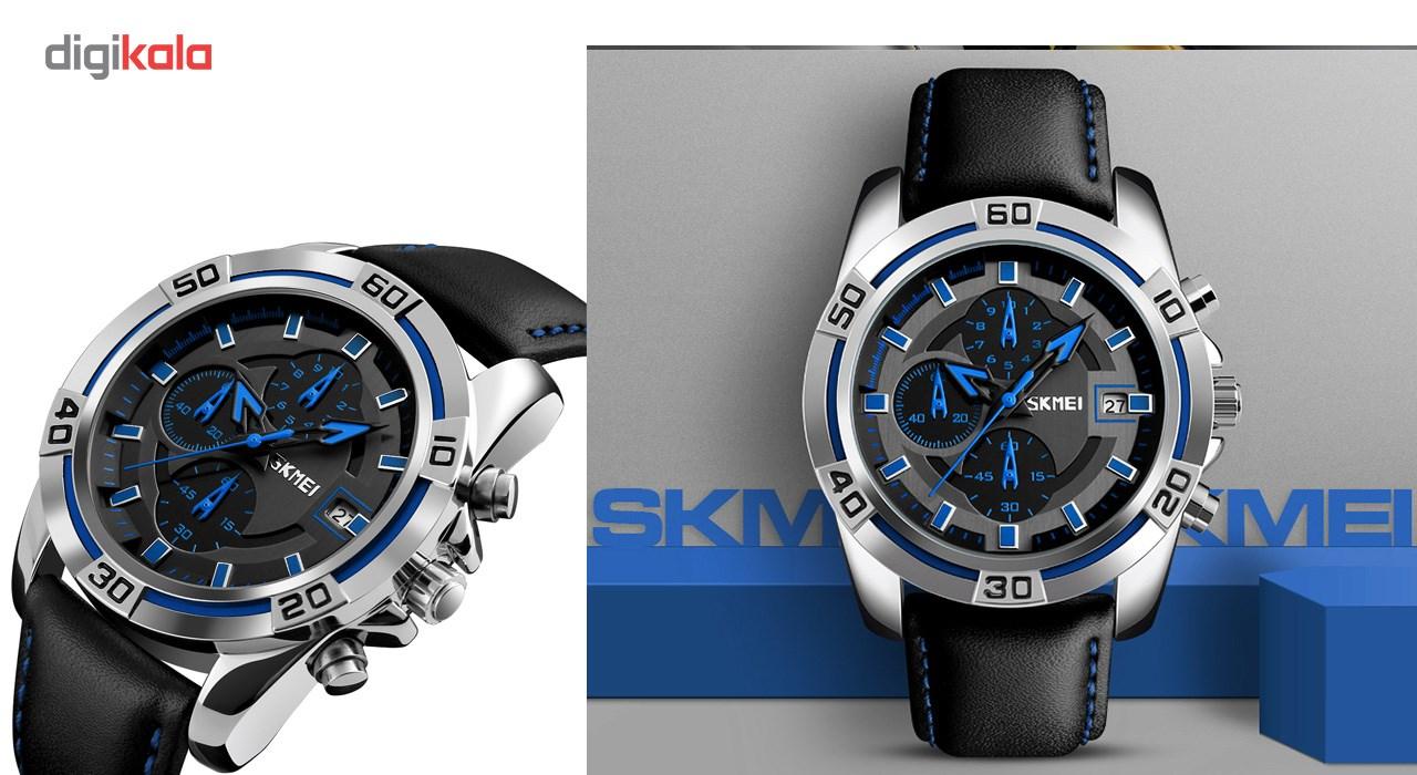 خرید ساعت مچی عقربه ای مردانه اسکمی مدل 9156 کد 01