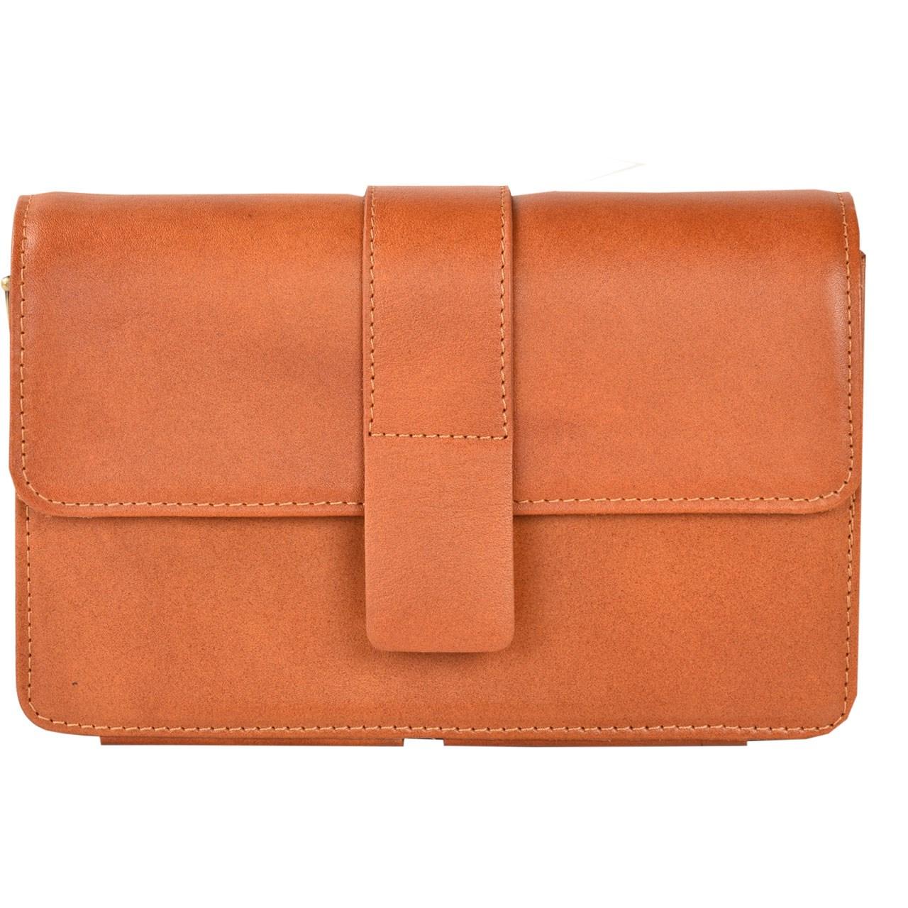 کیف دستی چرم طبیعی کهن چرم مدل DB27