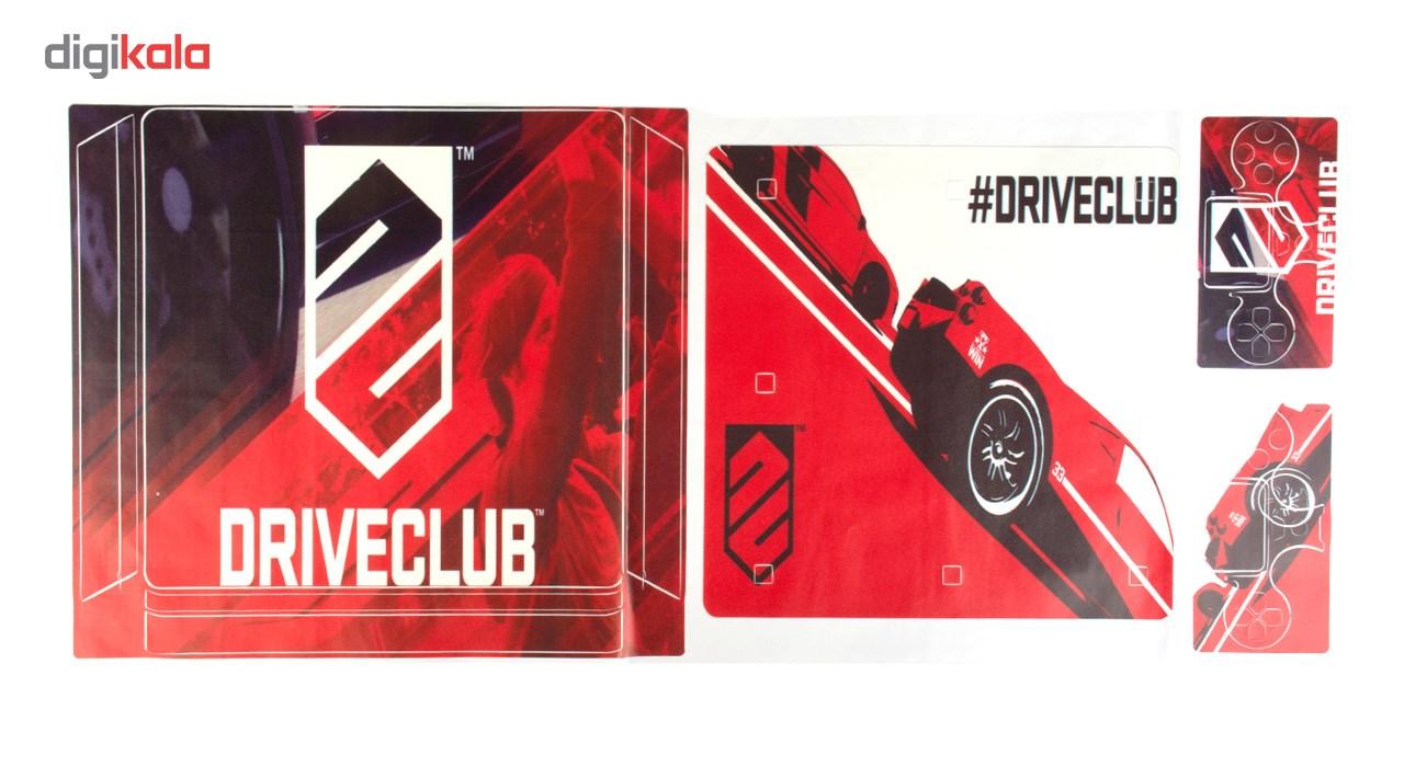 برچسب پلی استیشن 4 اسلیم مدل Driveclub