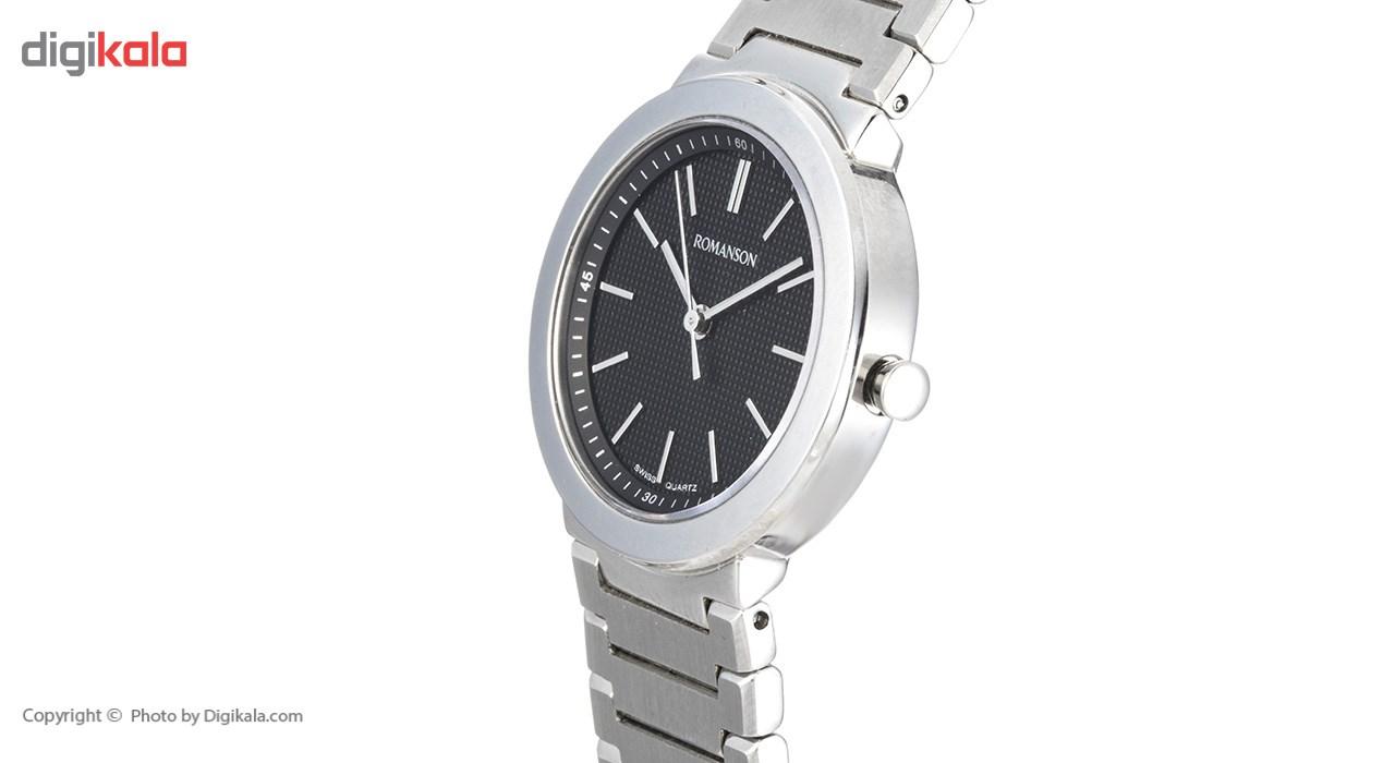 ساعت مچی عقربه ای زنانه رومانسون مدل TM8258LL1WA32W