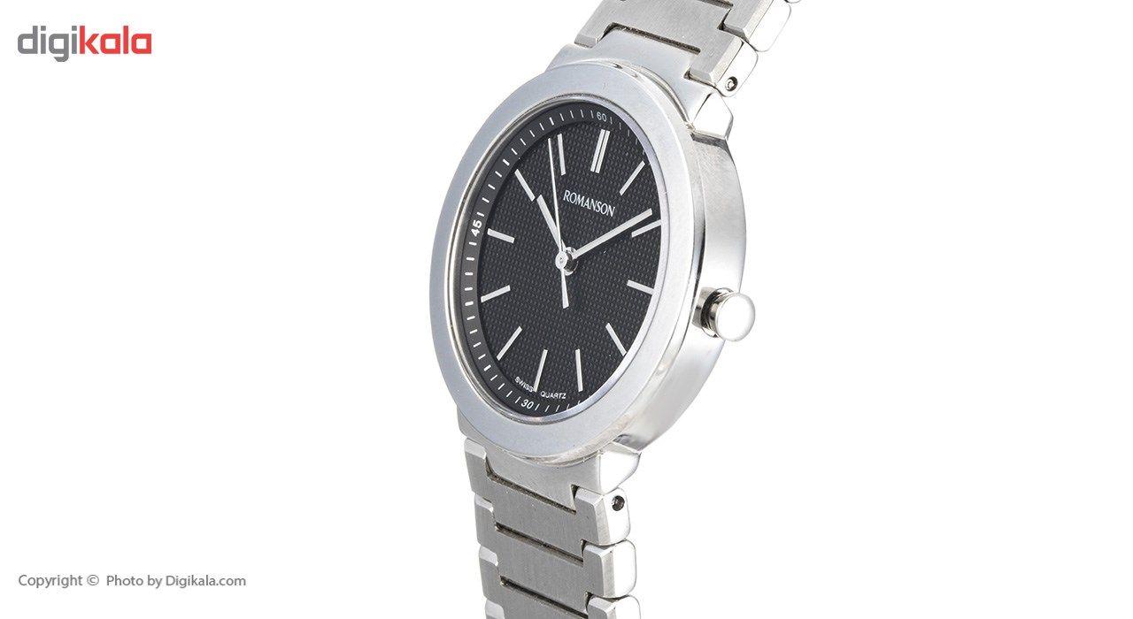 ساعت مچی عقربه ای زنانه رومانسون مدل TM8258LL1WA32W -  - 3