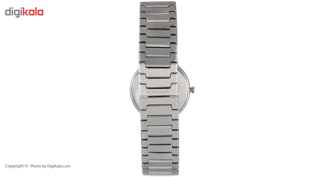 ساعت مچی عقربه ای زنانه رومانسون مدل TM8258LL1WA32W -  - 5
