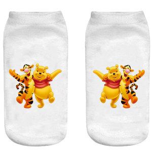 جوراب بچگانه طرح پو کد o37