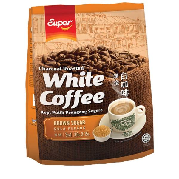 بسته ساشه قهوه سفید سوپر مدل Brown Sugar