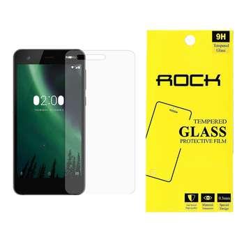 محافظ صفحه نمایش راک مدل 9H TEMPERED مناسب برای گوشی موبایل نوکیا NOKIA 2
