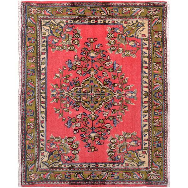 فرش قدیمی فرش هریس کد 102062