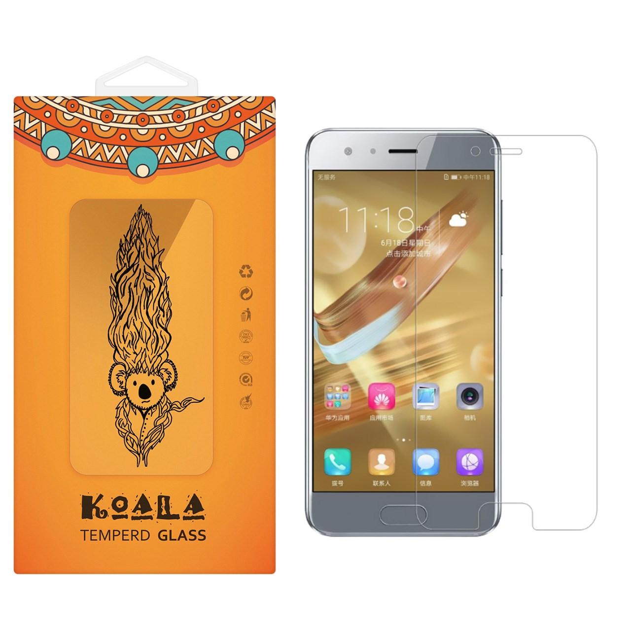 محافظ صفحه نمایش شیشه ای کوالا مدل Tempered مناسب برای گوشی موبایل هوآوی honor 9