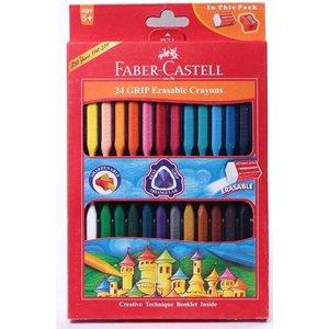 مداد شمعی فابر کاستل مدل گریپ ایریزبل - بسته 24 رنگ