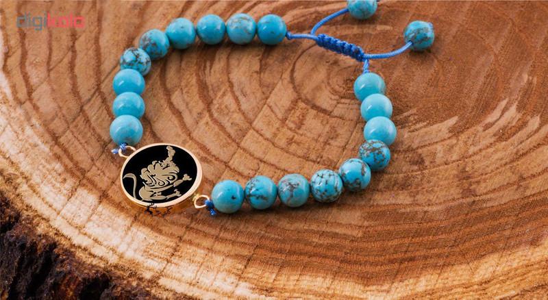 دستبند طلا 18 عیار مرجان مدل0709