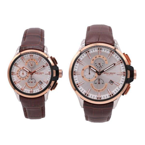 ساعت ست مردانه و زنانه اوشن مارین مدل Z-318Gc1 و Z-318Lc1