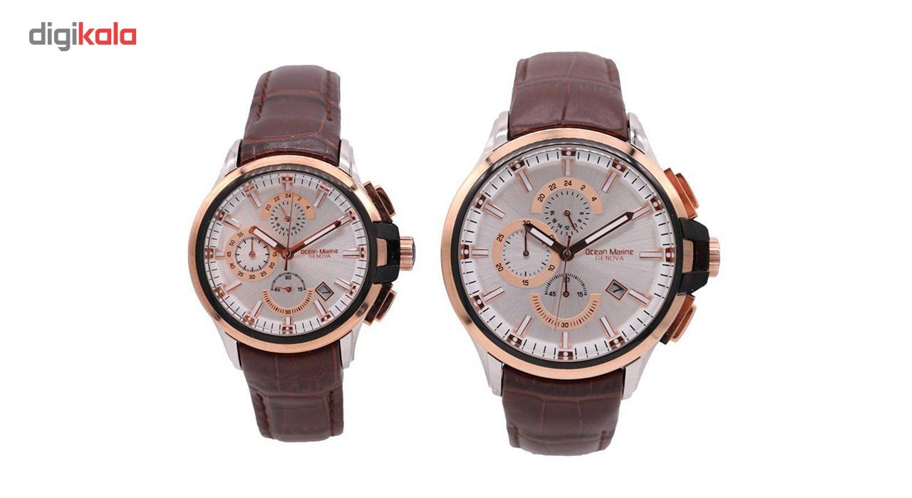 ساعت ست مردانه و زنانه اوشن مارین مدل Z-318Gc1 و Z-318Lc1              اصل