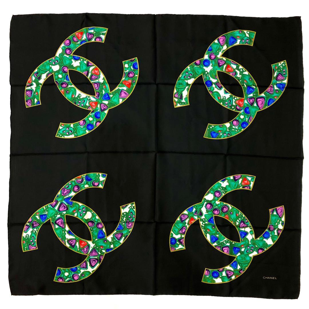 روسری زنانه شانل مدل 00C33