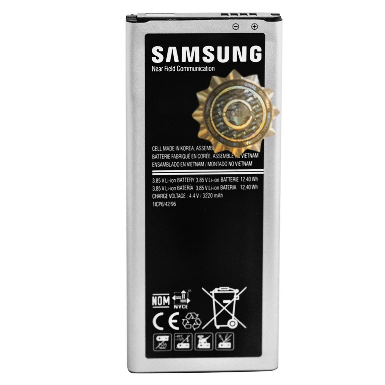 باتری موبایل مدل EB-BN910BBE با ظرفیت 3220mAh مناسب برای گوشی موبایل سامسونگ Galaxy Note 4