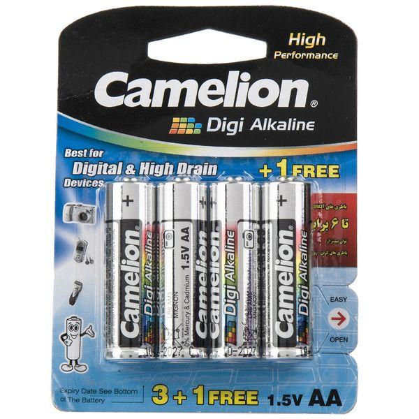 باتری قلمی کملیون مدل Digi Alkaline بسته 4 عددی