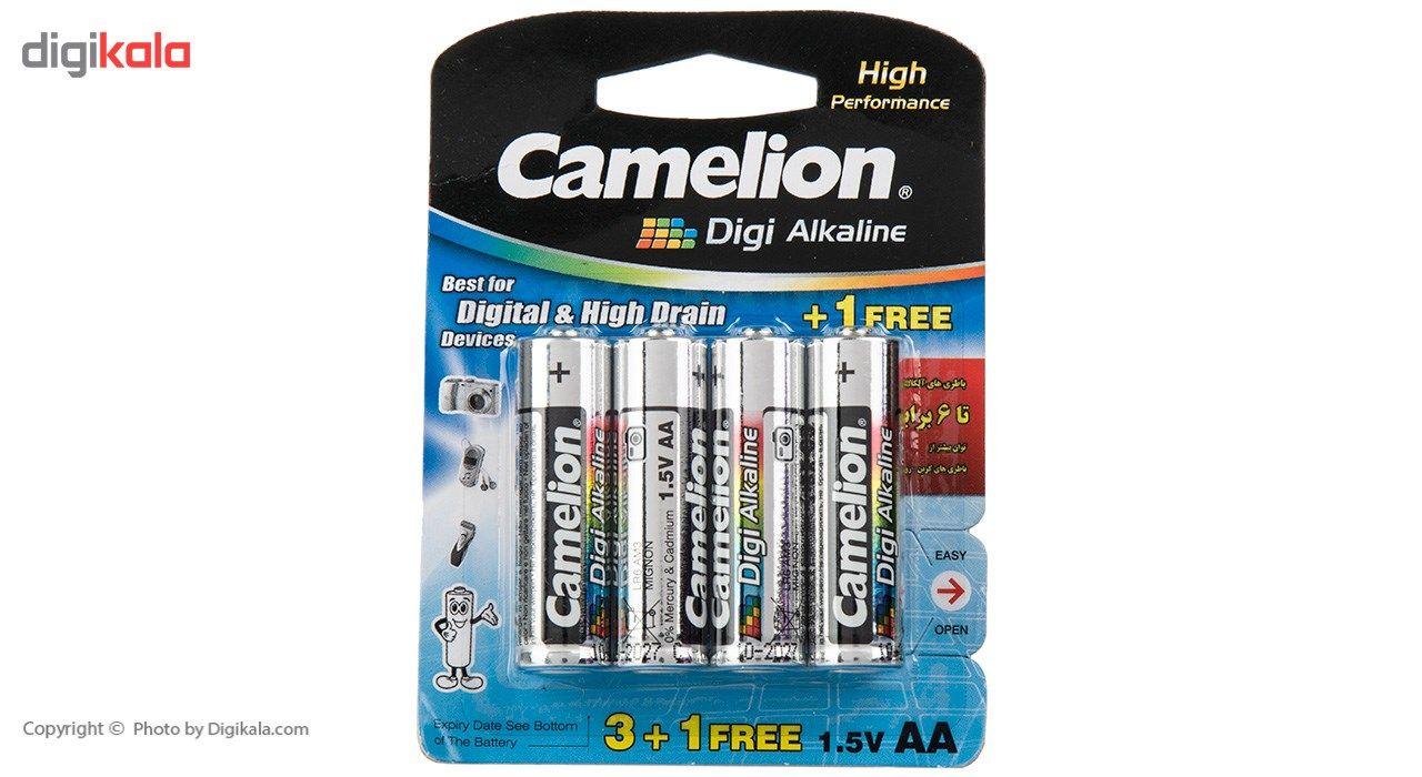 باتری قلمی کملیون مدل Digi Alkaline بسته 4 عددی main 1 1