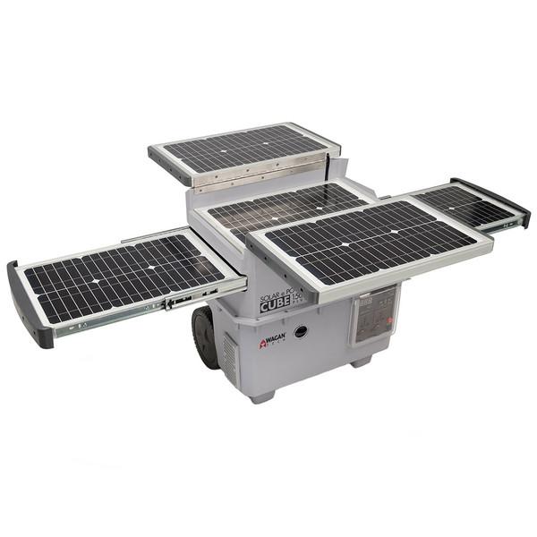 ژنراتور خورشیدی واگان مدل 2547 توان 1500 وات ظرفیت 100 آمپرساعت