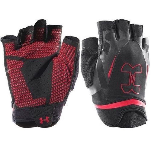 دستکش ورزشی زنانه آندر آرمور مدل3 UA Flux Half Finger Training