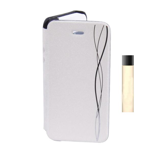 کیف کلاسوری جوی روم مدل Snap مناسب برای گوشی موبایل ایفون 5/5Sهمراه با  خوش بو کنندهKK24 با حجم 1.2میلی لیتر