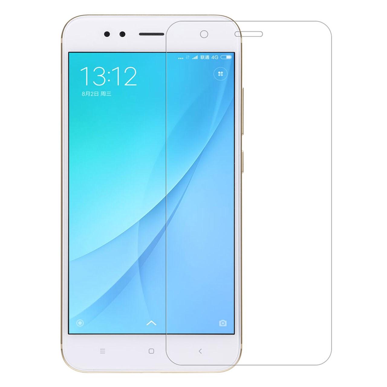 محافظ صفحه نمایش شیشه ای مدل Tempered مناسب برای گوشی موبایل شیائومی Mi A1