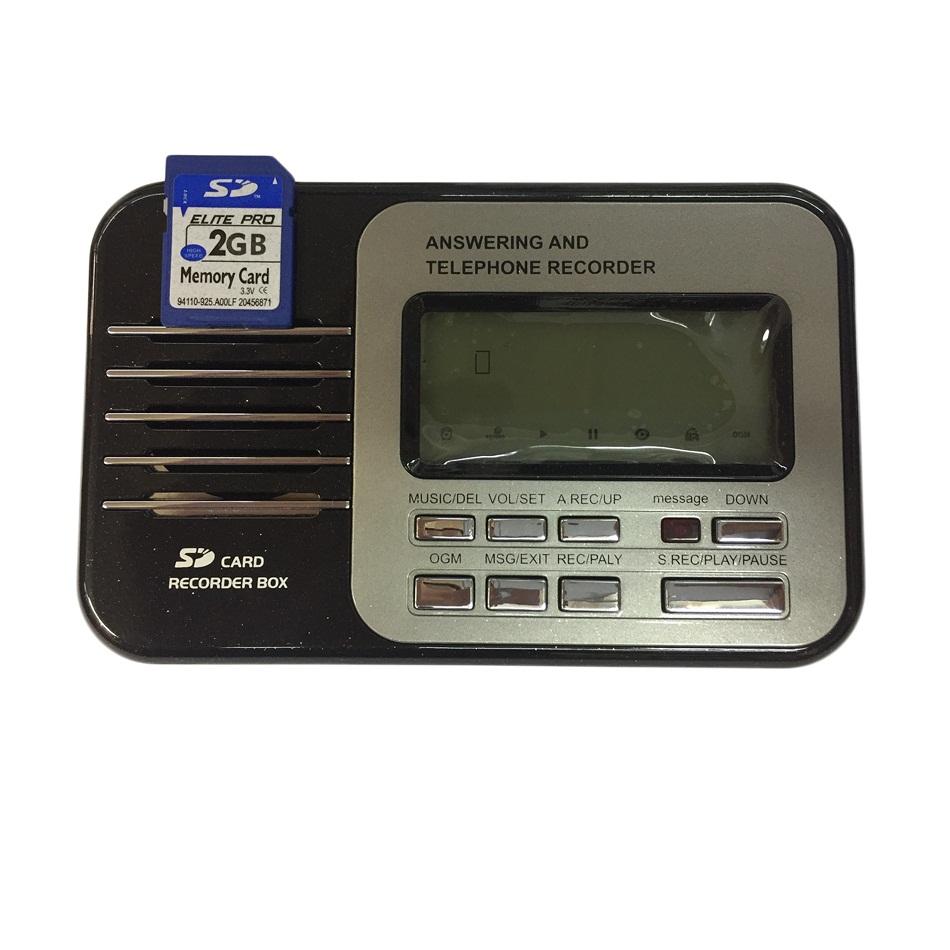 دستگاه منشی تلفنی و ضبط مکالمه تلفن مدل 405