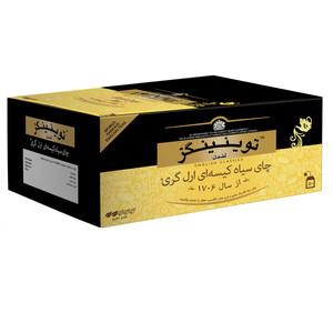 چای سیاه کیسه ای ارل گری توینینگز بسته 50 عددی