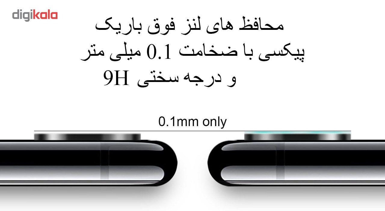 محافظ صفحه نمایش و پشت و لنز تمام چسب شیشه ای تمپرد پیکسی مدل 5D  مناسب برای گوشی اپل آیفون X main 1 5