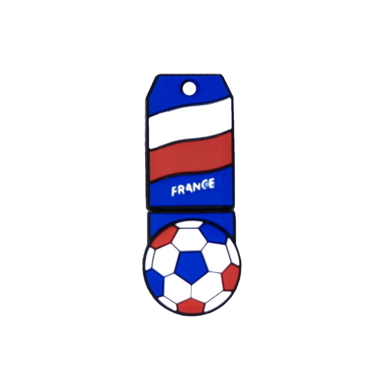 بررسی و {خرید با تخفیف}                                     فلش مموری طرح پرچم فرانسه مدل DPL1128-3-U3 ظرفیت 64 گیگابایت                             اصل